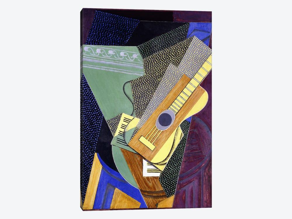 Guitar on a Table; Guitare sur une Table, 1916 (oil on canvas) by Juan Gris 1-piece Canvas Art