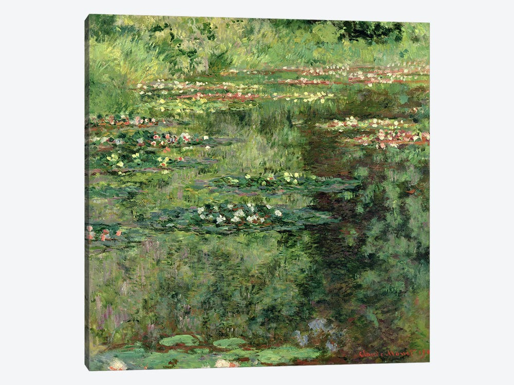 The Waterlily Pond, 1904  by Claude Monet 1-piece Art Print