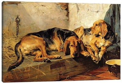 Lazy Moments, 1878  Canvas Art Print