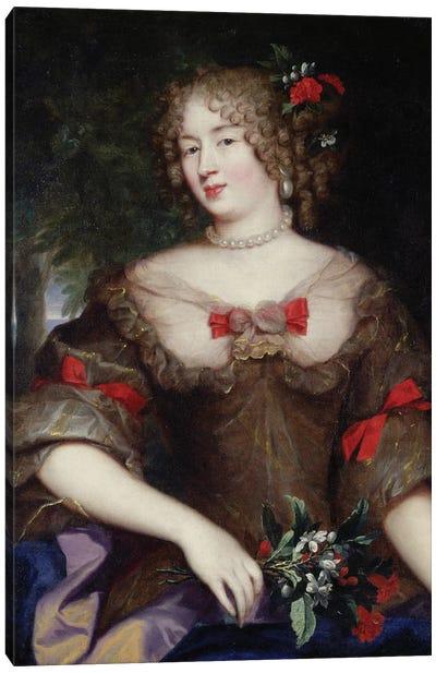 Francoise de Sevigne  Canvas Art Print