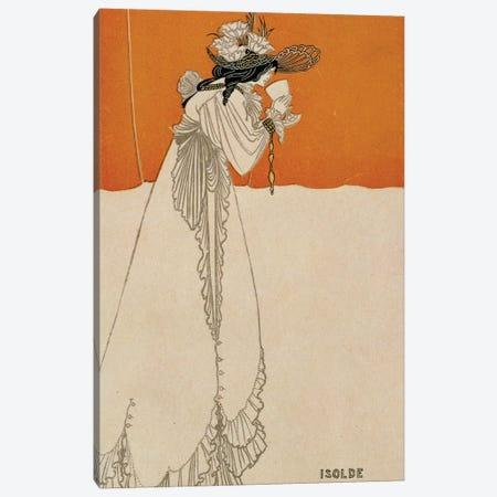 Isolde, illustration from 'The Studio', 1895  Canvas Print #BMN1478} by Aubrey Beardsley Canvas Art Print