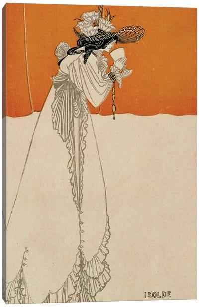 Isolde, illustration from 'The Studio', 1895  Canvas Art Print