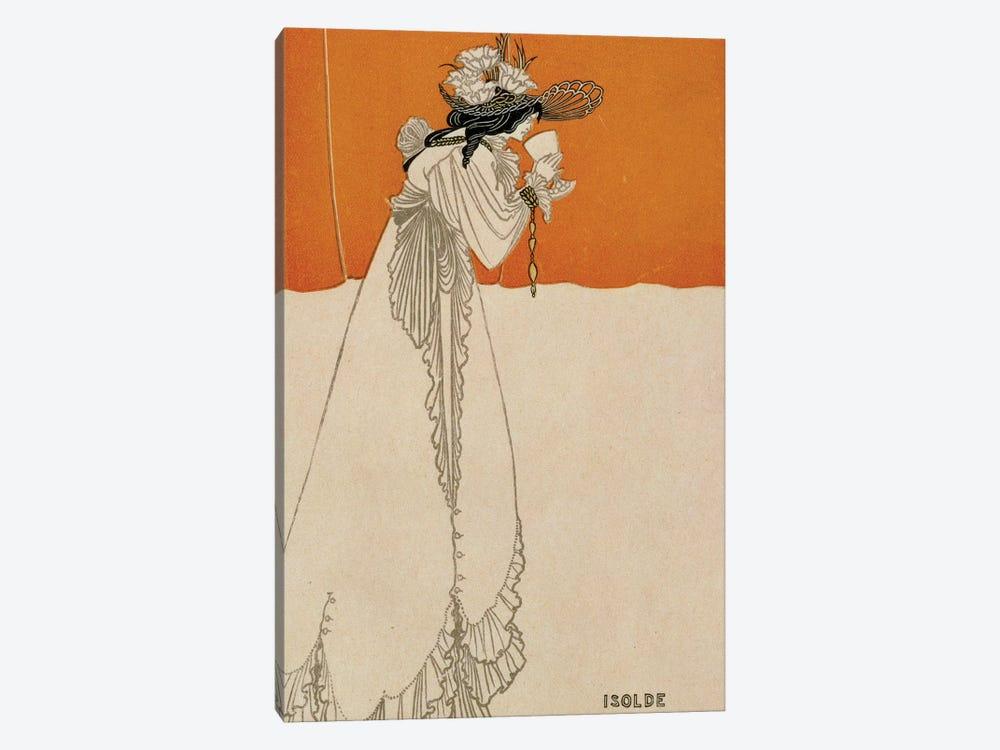 Isolde, illustration from 'The Studio', 1895  by Aubrey Beardsley 1-piece Art Print