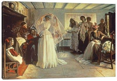 The Wedding Morning, 1892  Canvas Art Print