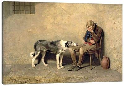 Fidelity, 1869  Canvas Art Print