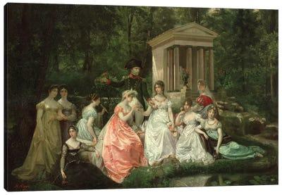 The Rose of Malmaison, c.1867   Canvas Art Print