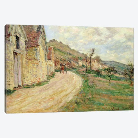 The Rocks at Falaise  Canvas Print #BMN1486} by Claude Monet Art Print