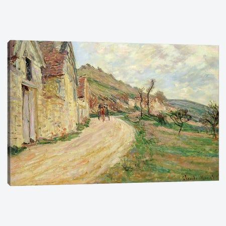 The Rocks at Falaise  Canvas Print #BMN1486} by Claude Monet Art Print