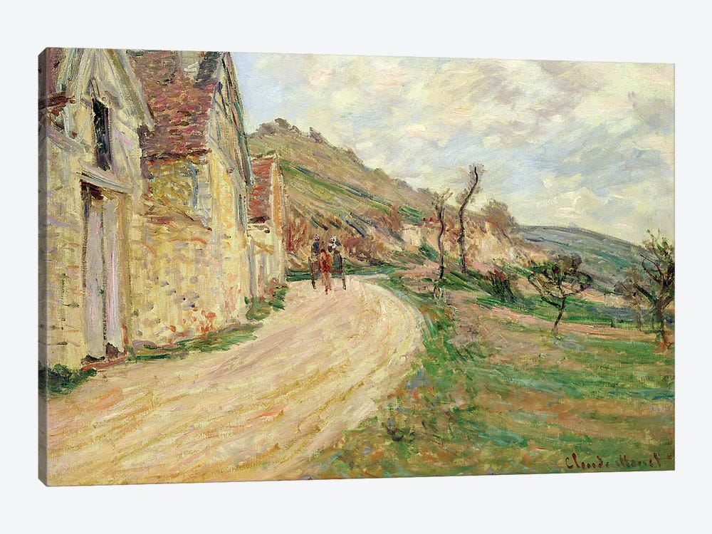 The Rocks at Falaise  by Claude Monet 1-piece Canvas Artwork