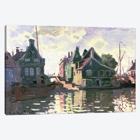 Zaandam  Canvas Print #BMN1488} by Claude Monet Canvas Wall Art