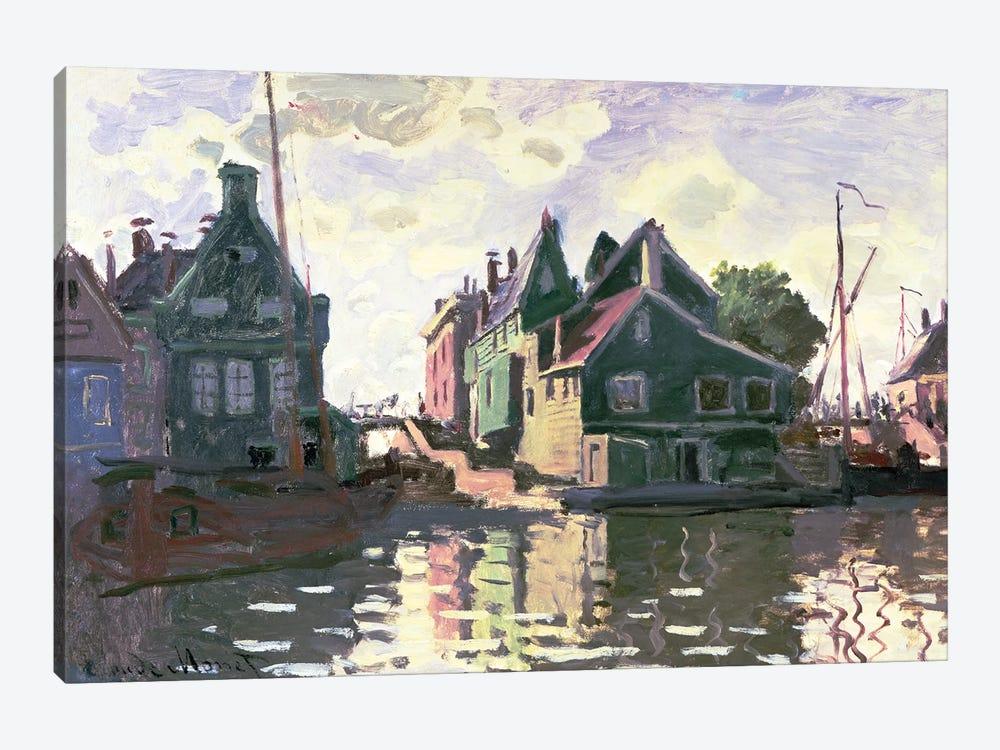 Zaandam  by Claude Monet 1-piece Canvas Art