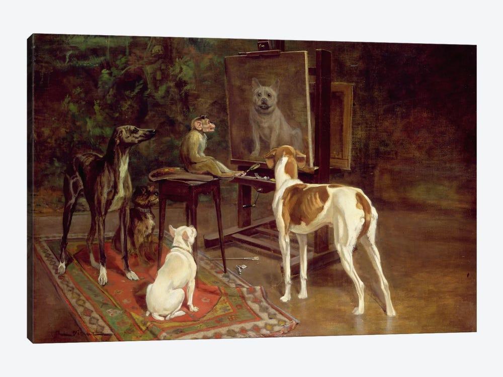 The Critics  by A. Vimar 1-piece Canvas Print