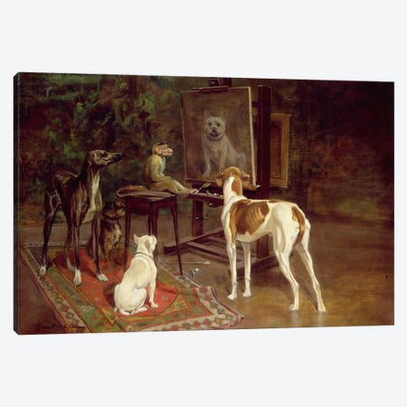 The Critics  Canvas Print #BMN1494} by A. Vimar Canvas Art
