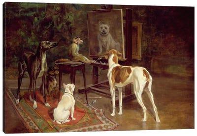 The Critics  Canvas Art Print