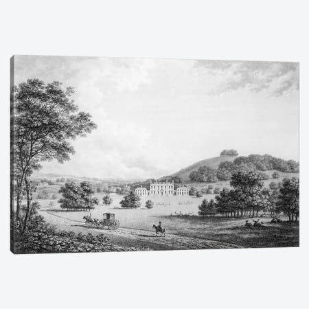 Godmersham Park, Kent, the Seat of Thomas Knight Esq., pub. in 1785  Canvas Print #BMN1496} by William Watts Canvas Artwork
