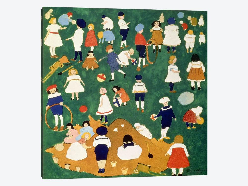 Children, 1908  by Kazimir Severinovich Malevich 1-piece Art Print