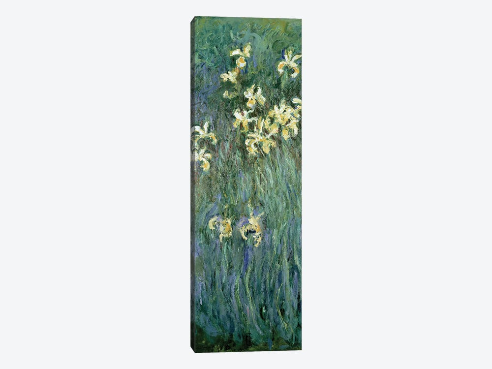 The Yellow Irises  by Claude Monet 1-piece Canvas Artwork