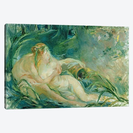 Jupiter and Callisto, after a painting by Boucher  Canvas Print #BMN1508} by Berthe Morisot Art Print