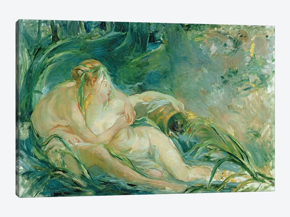 Jupiter and Callisto, after a painting by Boucher  by Berthe Morisot 1-piece Canvas Print