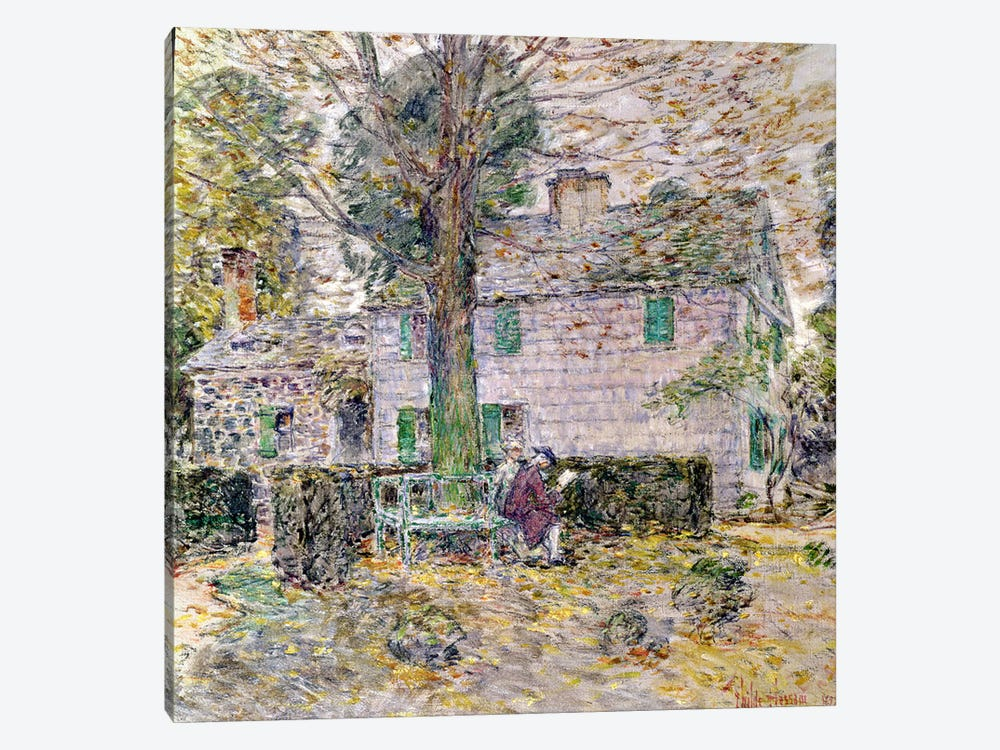Indian Summer in Colonial Days, 1899 by Childe Hassam 1-piece Canvas Wall Art