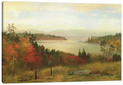 Raquette Lake, 1869  Canvas Art Print