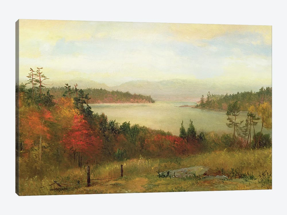 Raquette Lake, 1869  by Homer Dodge Martin 1-piece Canvas Art Print