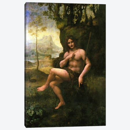Bacchus, c.1695  Canvas Print #BMN1516} by Leonardo da Vinci Canvas Art Print