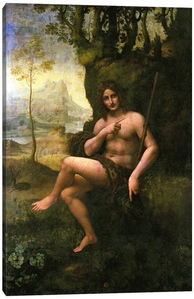 Bacchus, c.1695 by Leonardo da Vinci Canvas Art Print