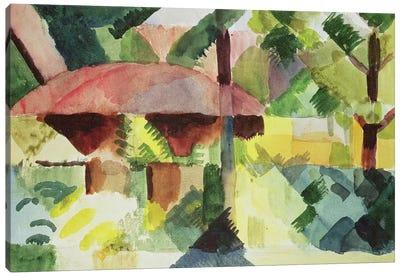 The Garden, 1914  Canvas Art Print