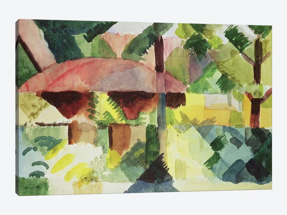 The Garden, 1914  by August Macke 1-piece Art Print
