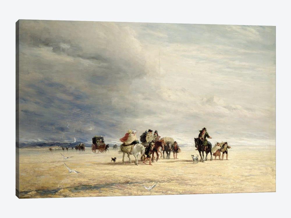 Lancaster Sands, 1841  by David Cox 1-piece Canvas Art