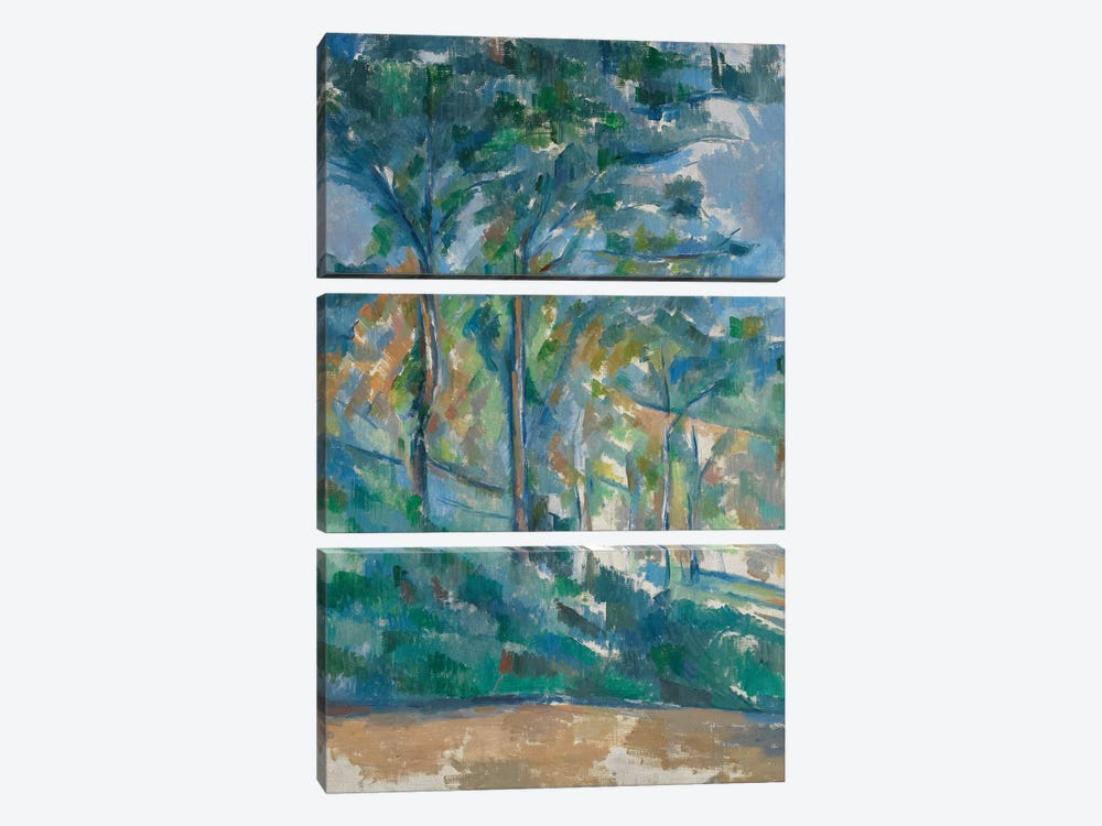 Landscape, c.1900  by Paul Cezanne 3-piece Canvas Wall Art