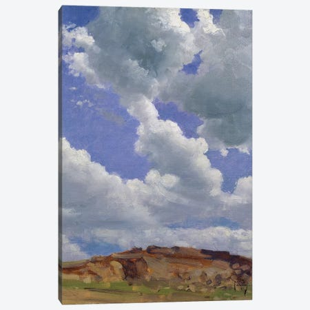 Clouds  Canvas Print #BMN1529} by Thomas Cooper Gotch Canvas Print