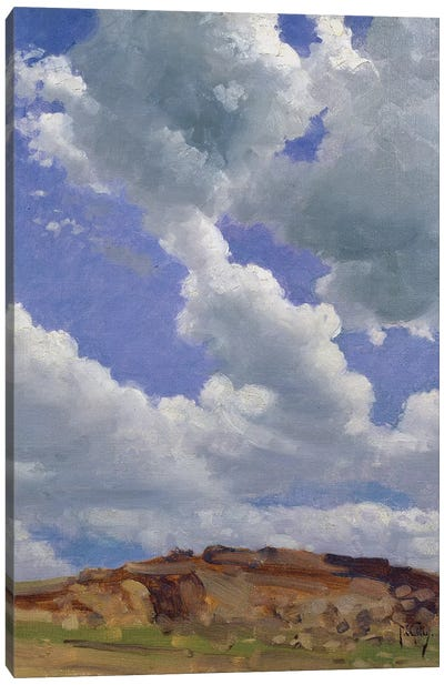 Clouds  Canvas Art Print