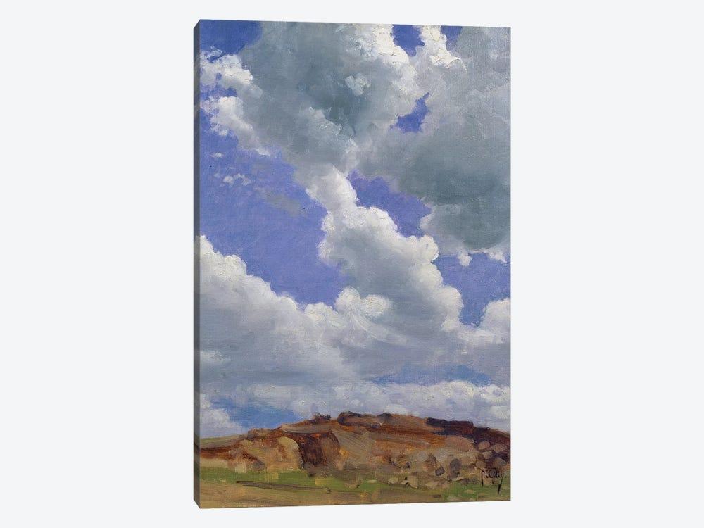 Clouds  by Thomas Cooper Gotch 1-piece Canvas Art