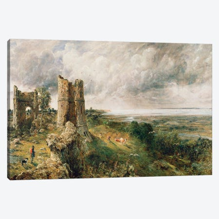 Hadleigh Castle, 1829  Canvas Print #BMN1541} by John Constable Canvas Print