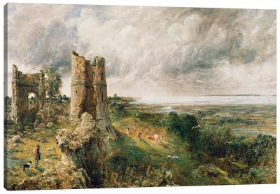 Hadleigh Castle, 1829  Canvas Art Print