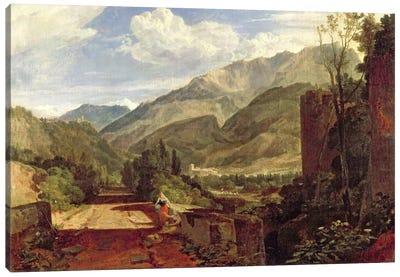 Chateau de St. Michael, Bonneville, Savoy, 1803  Canvas Print #BMN1542