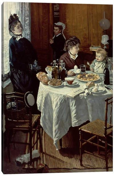 The Breakfast, 1868  Canvas Print #BMN1548