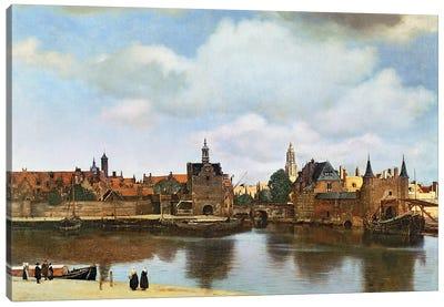 View of Delft, c.1660-61  Canvas Art Print