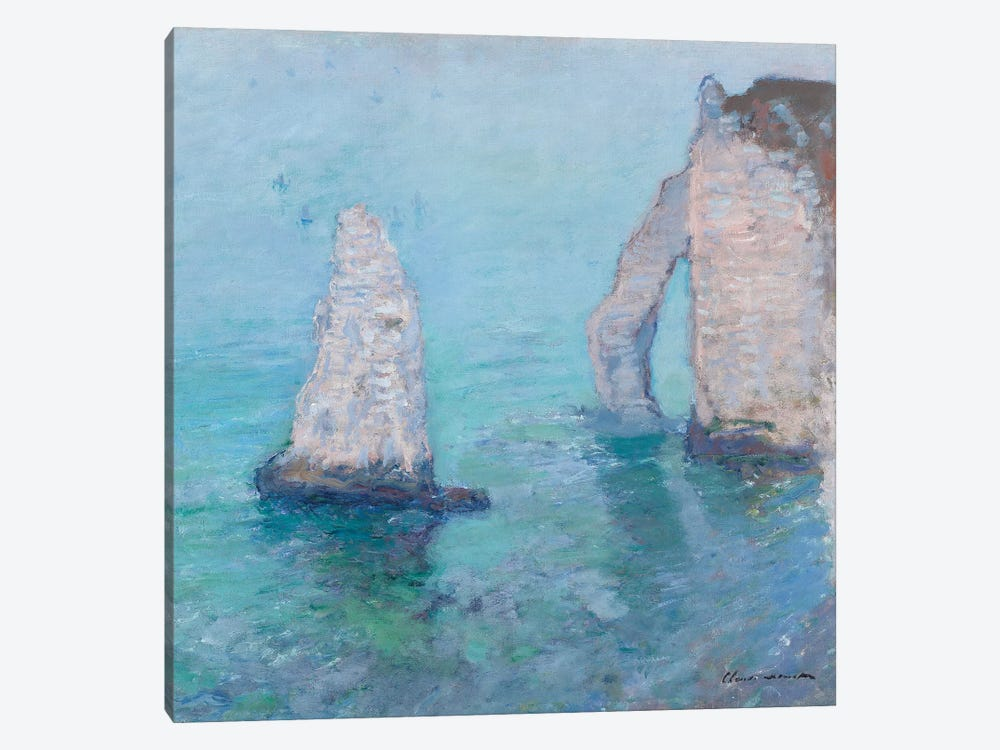 The Rock Needle and the Porte d'Aval, c.1885  by Claude Monet 1-piece Art Print