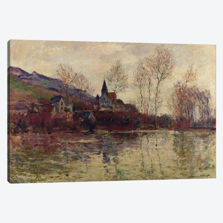 Floods at Giverny, 1886  Canvas Print #BMN1588} by Claude Monet Canvas Art Print