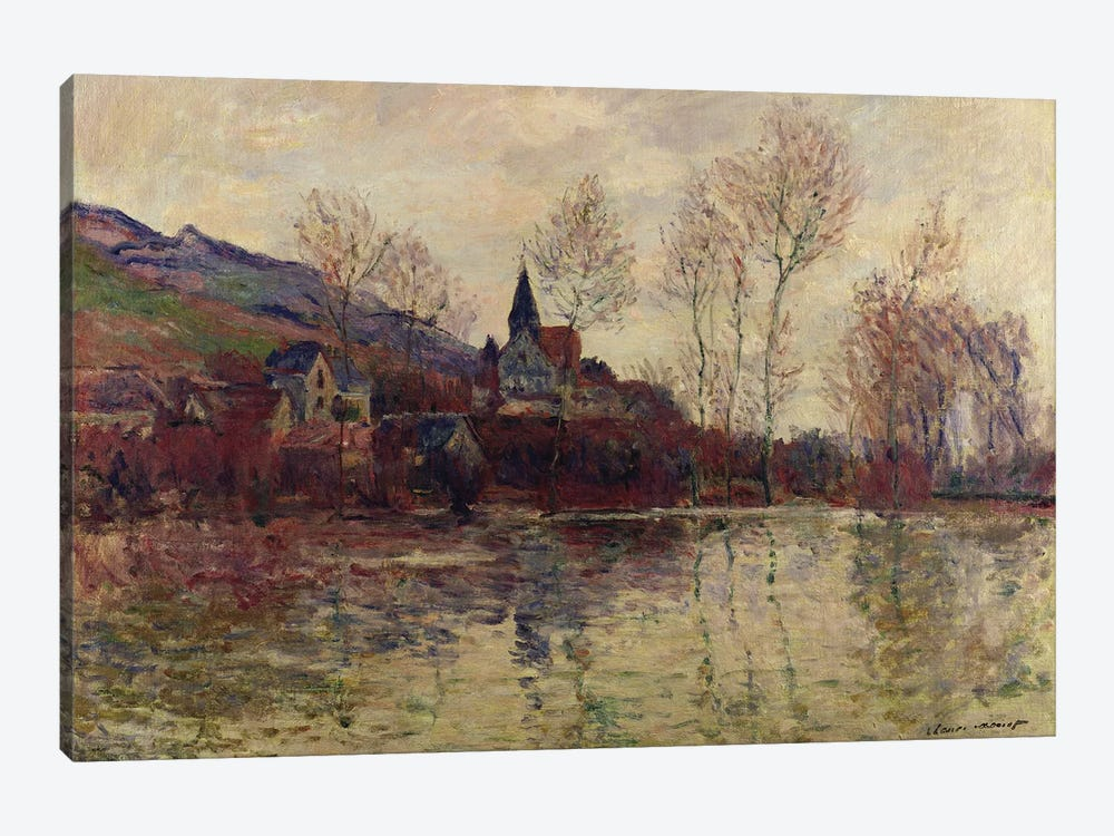 Floods at Giverny, 1886  by Claude Monet 1-piece Art Print