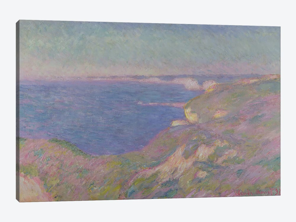 The Cliffs Near Dieppe, 1897  by Claude Monet 1-piece Canvas Artwork