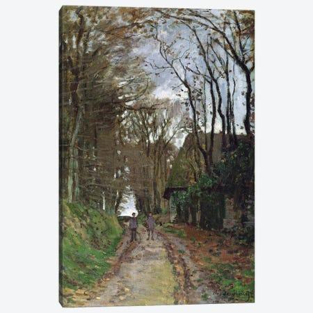 Path in Normandy  Canvas Print #BMN1592} by Claude Monet Canvas Art