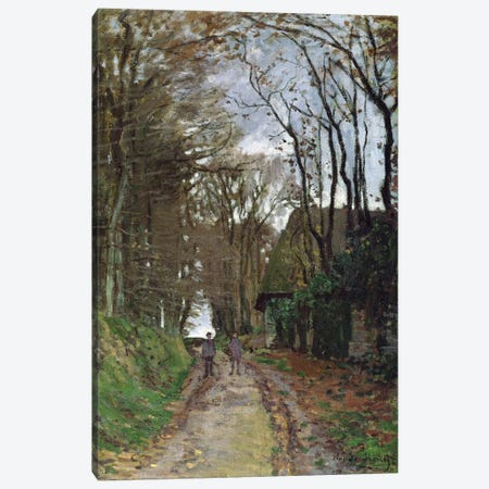 Path in Normandy  Canvas Print #BMN1592} by Claude Monet Canvas Art