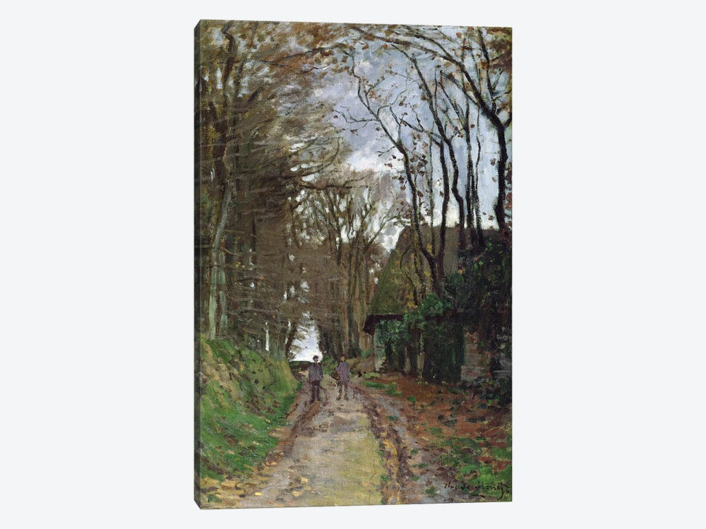 Path in Normandy by Claude Monet 1-piece Canvas Wall Art