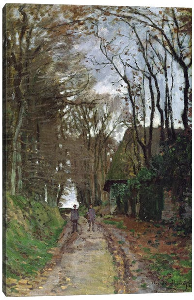Path in Normandy  Canvas Art Print