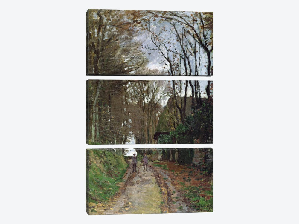 Path in Normandy  by Claude Monet 3-piece Canvas Art