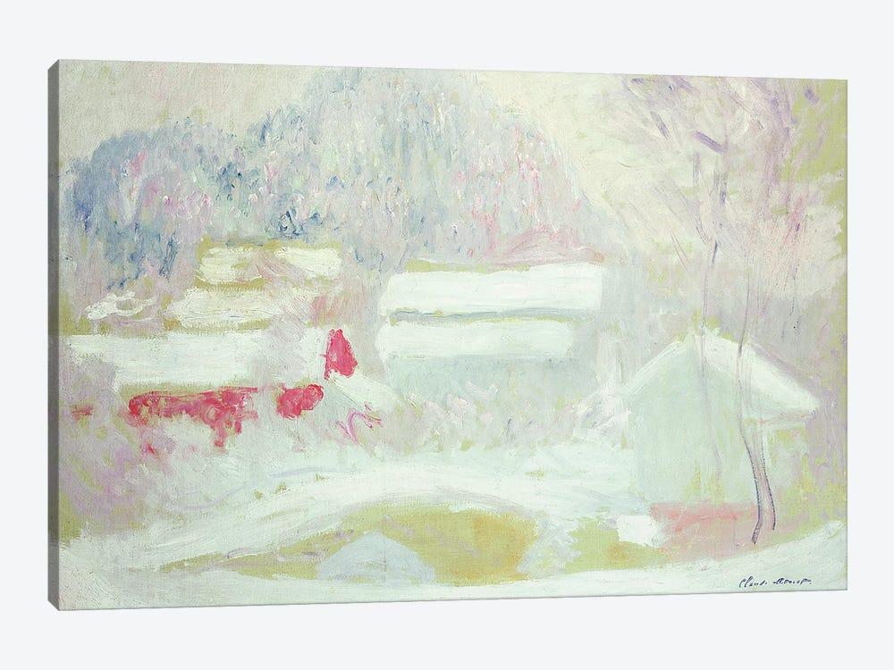 Sandviken, Norway, 1895  by Claude Monet 1-piece Art Print